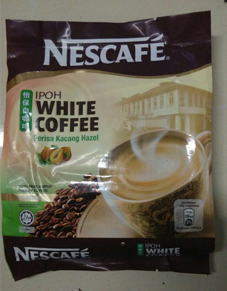 Malaysia s treasure white coffee 540 g hazelnut new packing free shipping