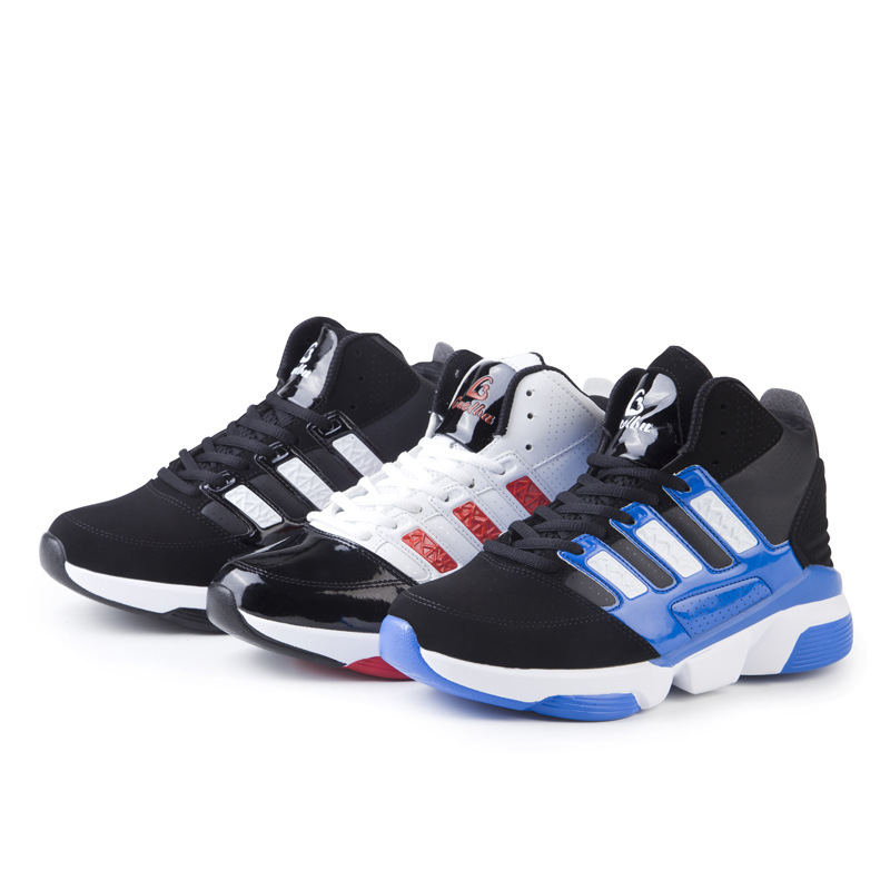 2016 New Brand Mens Basketball Shoes Spring Autumn Sport Boots Men Sneakers Outdoor/Indoor Basketball Training Shoes(China (Mainland))