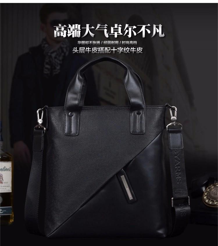 Free Shipping New 2015 Fashion Men Bags, Men Messenger Bag, High Quality Man Brand Business Bag, Shoulder Bag  For Men #10071-2