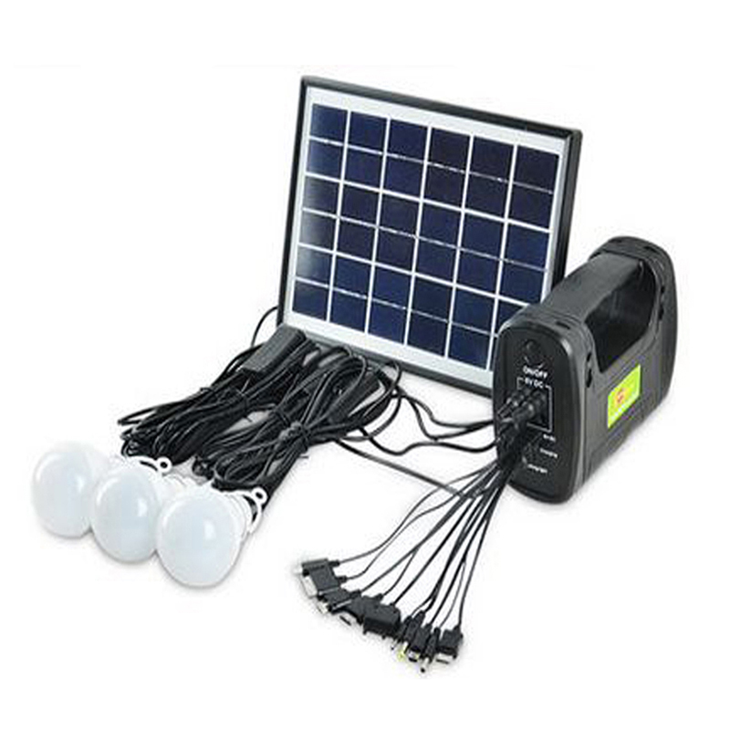 Solar Generator Kits Solar Panel Camping Lighting Portable Mobile Powerbank Hand Lamp Light for Emergency Fishing Hiking RV<br><br>Aliexpress
