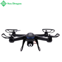 Free shipping KF DM007 2.4G 4CH 6Axis RC Quadcopter With 2MP Camera RTF RC Helicopter Remote Control Quadcopter Model Toys