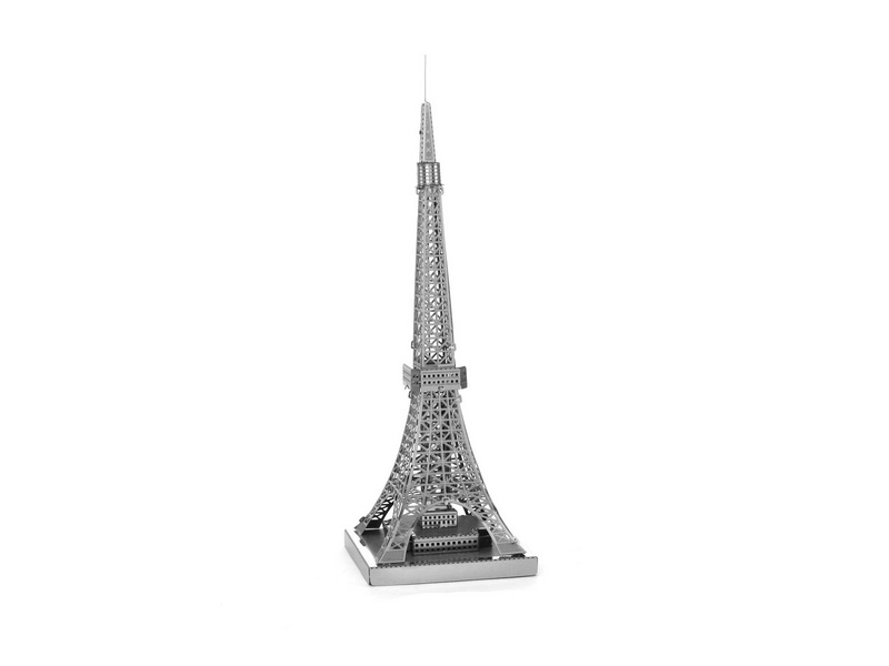 3D Metal Puzzles Eiffel Tower Building Toy 3D Metal Model NANO Puzzles New Styles Chinese Metal Earth DIY Creative Gifts(China (Mainland))