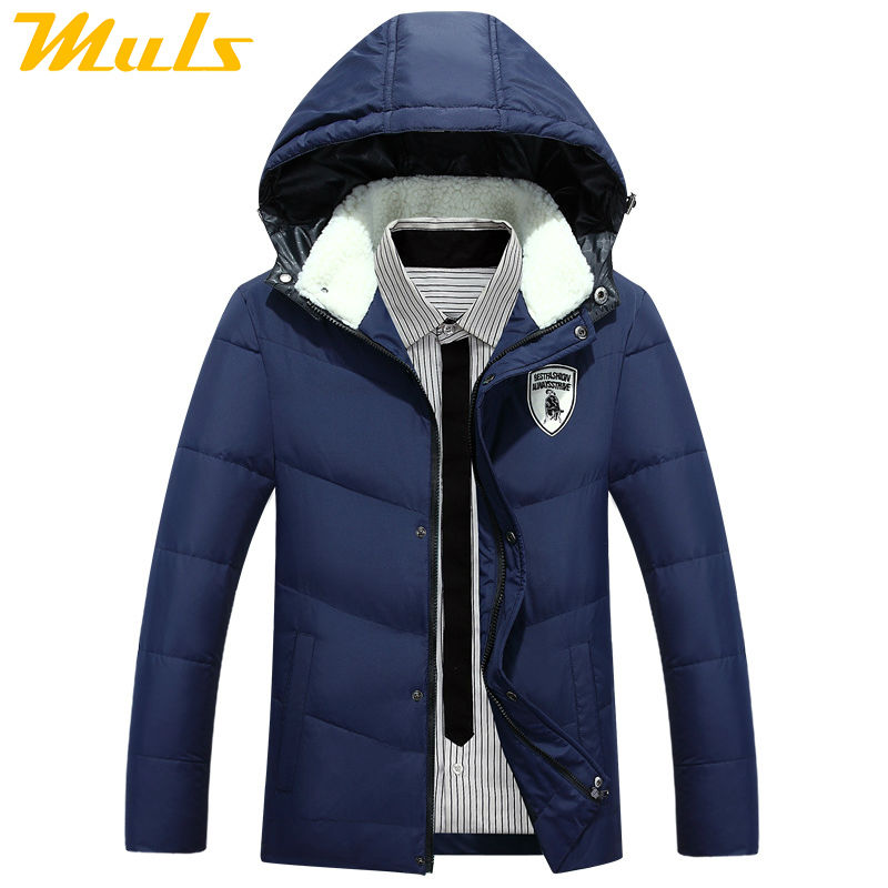 Men's down jacket to keep warm in the winter Fur Collar men coat Duck down jacket men canada goode 2015 new arrival cloth JP1405(China (Mainland))