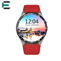 E T Android 5 1 OS CPU MTK6580 quad core smart wrist watch Aluminum watchcase BT