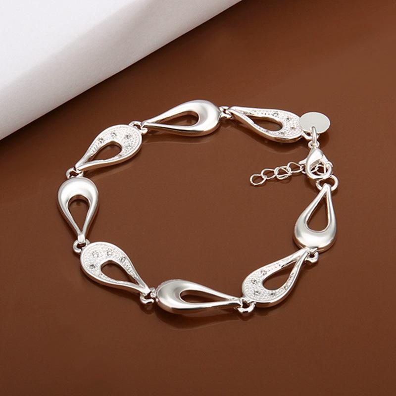 summer style 925 sterling silver bracelet 925