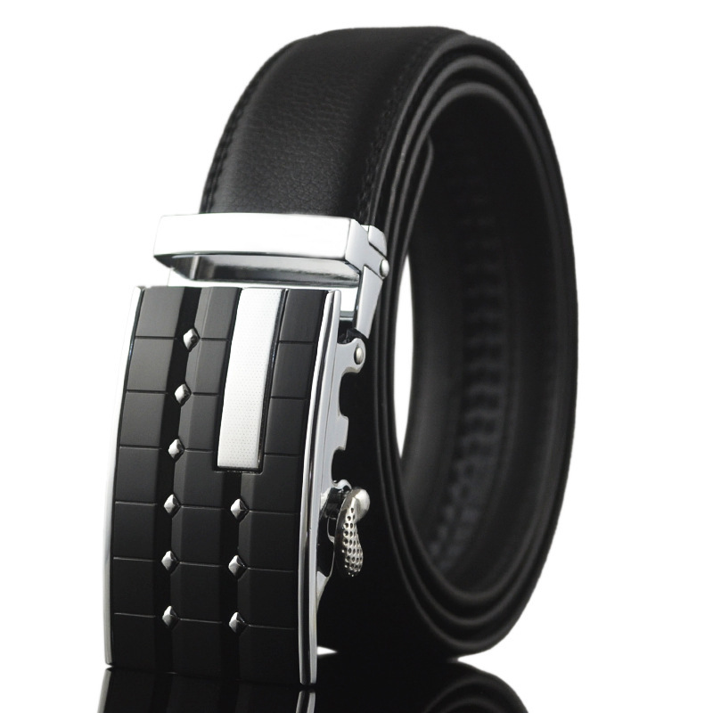 2016 luxury men belts for men automatic alloy buckle patch work new arriving popular style male top strap(China (Mainland))