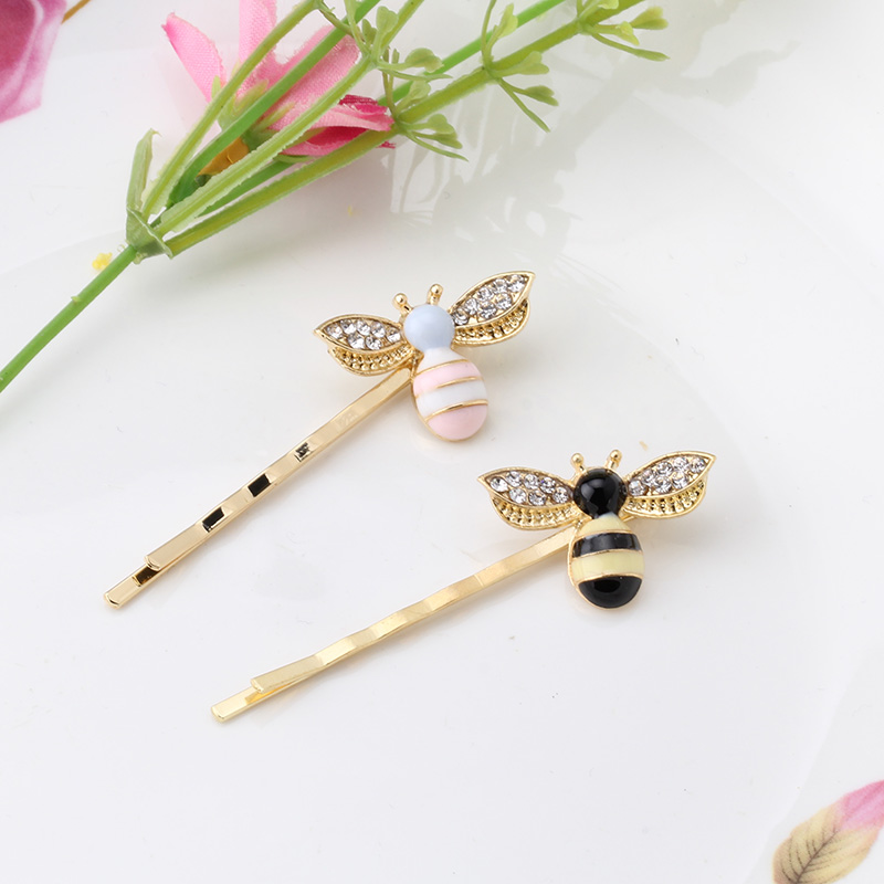 M MISM Cute Girls Crystal Wings Bees Hair Jewelry Animal Styles Hairpins Hair Clips for Women's Hair Accessories Barrettes(China (Mainland))