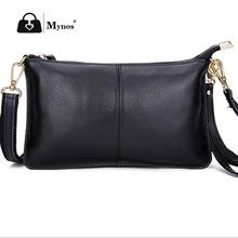 High Quality Genuine Leather Bag For Women Crossbody Bag Female Messenger Wristlet Day Clutch Bolsos Bolsas Sac Femme