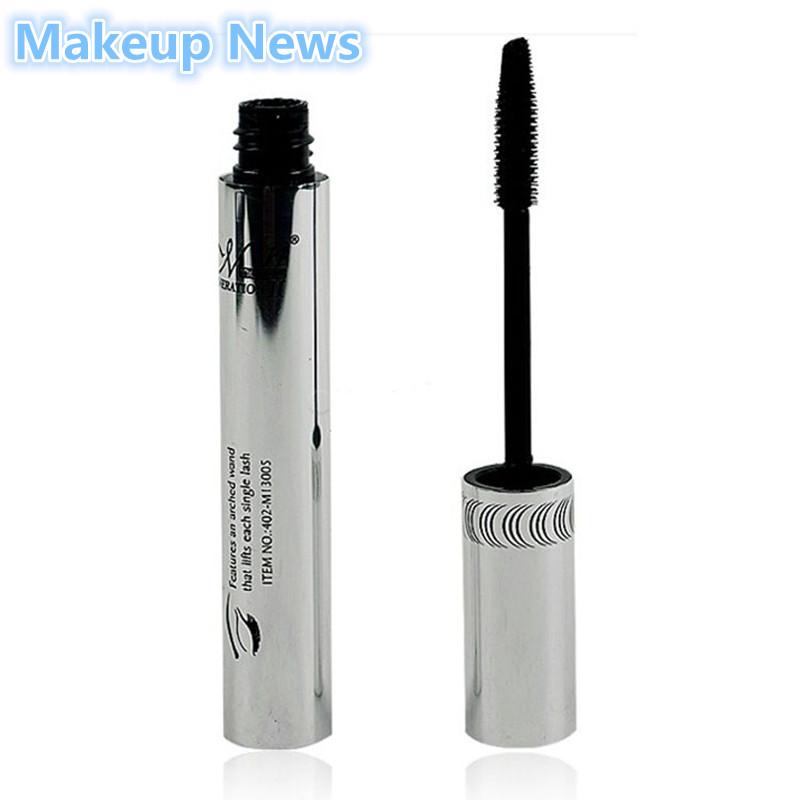 1 brand Eye Mascara Makeup Long Eyelash Silicone Brush curving lengthening colossal mascara Waterproof volume express Black 6.5g(China (Mainland))