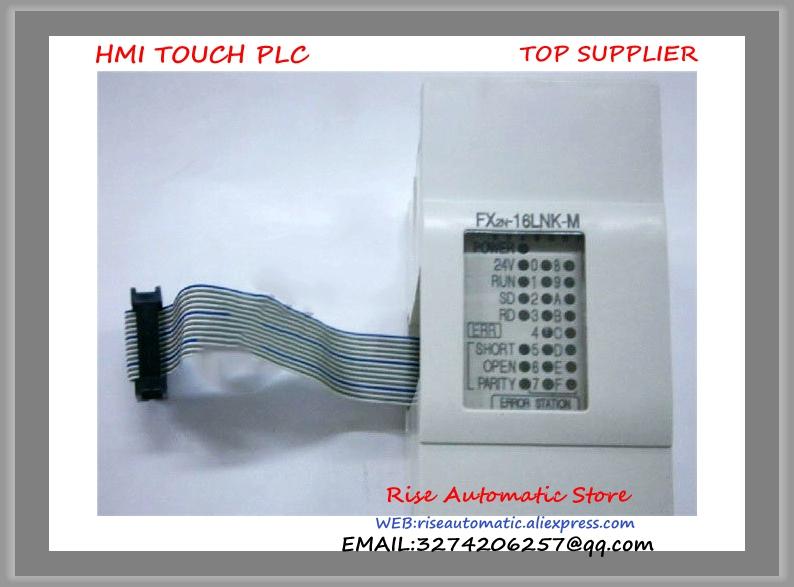 New Original FX2N-16LNK-M PLC I/O Link Remoter Master Module