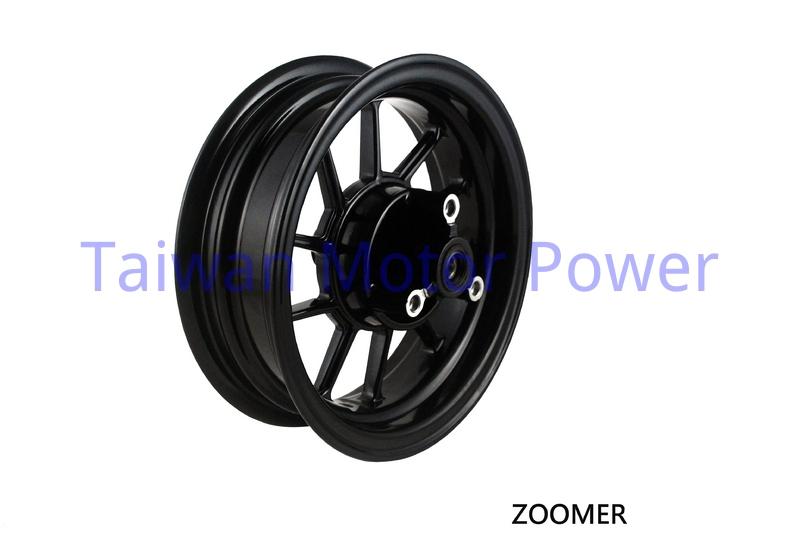 Taiwan NCY fit HONDA ZOOMER 50 ZOOMER50FI FRONT ALUMINUM RIM WHEEL tire modification accessories motorcycle(China (Mainland))