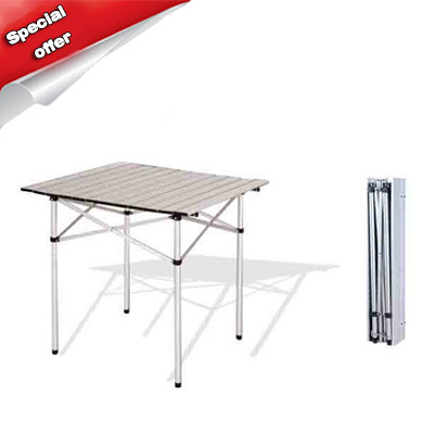 Hot Selling Outdoor Aluminium Alloy Folding Table Picnic Table Lightweight Portable Table for Outdoor(China (Mainland))