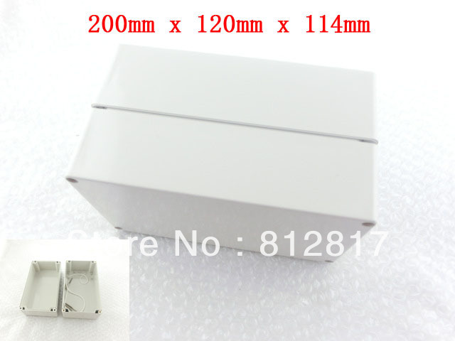 200mm x 120mm x 114mm Waterproof Plastic Enclosure Case DIY Junction Box<br><br>Aliexpress