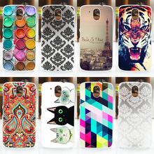 NEW! 2016 HOT Colored Painting Cover Case FOR HTC Desire 526 526G 526G+ 326 326G, FOR HTC Desire 326 526 Phone Back Case Cover(China (Mainland))