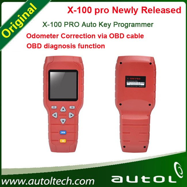 Configuration(C+D) added auto Odometer correction function X-100 pro Diagnostic tool + OBD Mileage correction tool(China (Mainland))