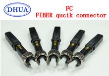 AB76J FTTH 1single/multi mode fiber optical digital communication FC Quick Connector - Green Optics store