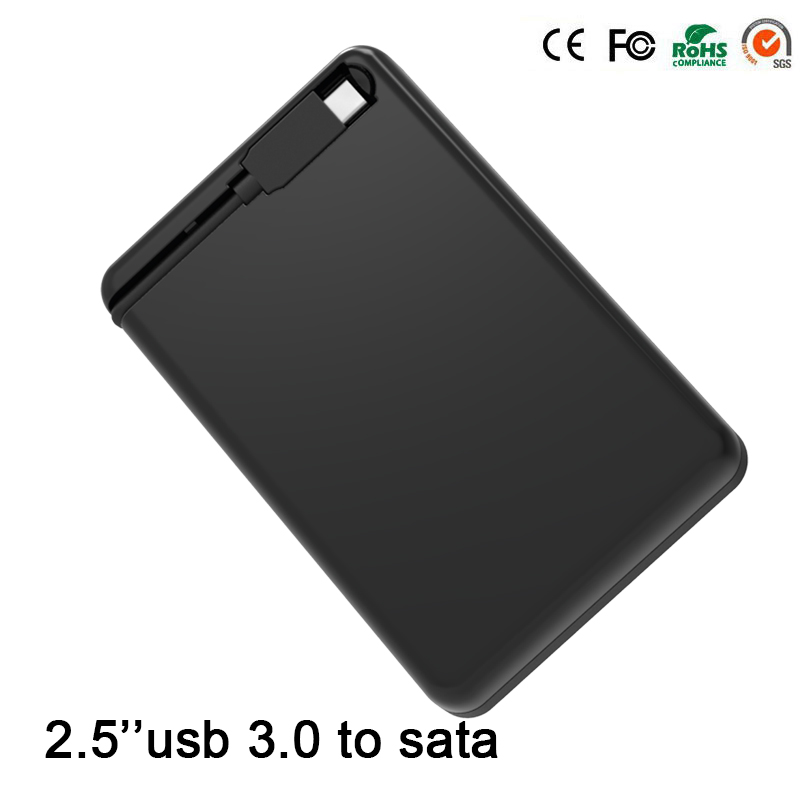 10pcs/lot hot sell black portable tool free CLE USB 3.0 External Hard Driver Cases 2.5'' SATA Adapter DVD HDD Enclosures MR23LC(China (Mainland))