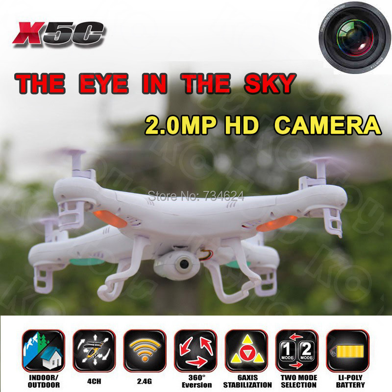2014 New Syma X5 2.4Ghz Explorers With HD Camera,4ch Mini RC Quadcopter LCD