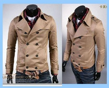 Free shipping 2012 new hot Cool Popular men's Autumn winter Slim jacket Fashion casual Brand coat