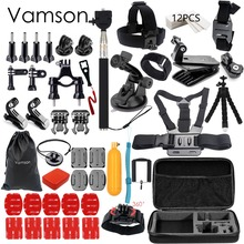 Buy Vamson Gopro Accessories set go pro hero 5 4 3 kit mount SJCAM SJ4000 / xiaomi yi camera / eken h9 tripod VS84 for $25.71 in AliExpress store