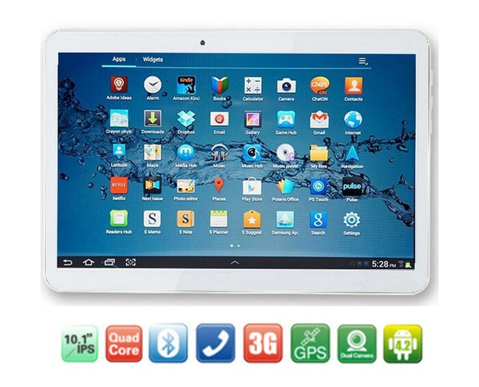 Планшетный ПК Lnterpad 10/a101 MTK6582 IPS 2G RAM 32G Android 4.4 3G 7 9 10.1