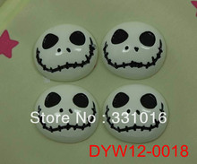 STOCK! 30pcs Halloween Wry Face Resin Cabochon Flatbacks Flat Back For Hair Phone Home Decoration Making Crafts DIY(China (Mainland))