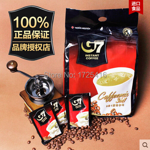 2015 New Central Vietnam Coffee 800 g triple G7 instant coffee free shipping