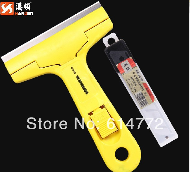 Marble cleaning shovel knife, blade glass wall floor cleaning knife, cleaning scraping knife(China (Mainland))