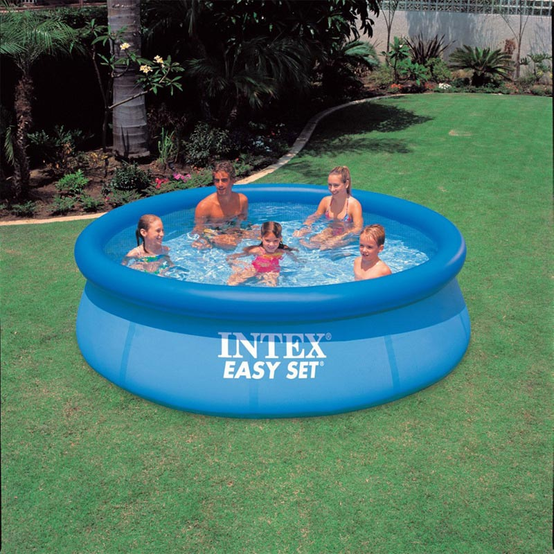Intex 28120 56920 swimming pool 305 76cm summer play for Obi intex pool