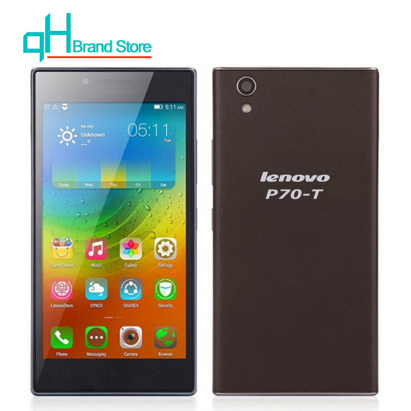 Lenovo P70t P70-t MTK6732 Mobile Phone Quad Core 5.0 inch Android 4.4 13MP 4G LTE 13MP(China (Mainland))