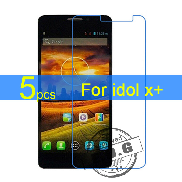 5pcs Anti scratch Gloss Ultra Clear LCD Screen Protector Film Cover For Alcatel one touch Idol