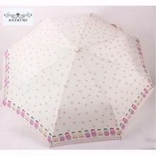 Buy Cute Dolls 8K Lovely Automatic Umbrella Anti-uv Sun/Rain DurableThree Folding Umbrella for $11.35 in AliExpress store
