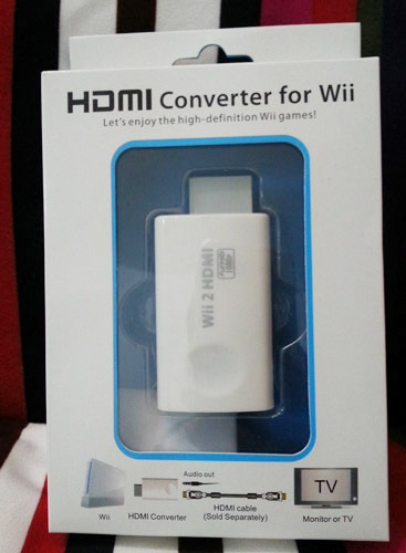 Wii to HDMI 720P 1080P HD Upscaling Converter Adapter<br><br>Aliexpress