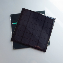 2pcs x 6V 3W 495mA Mini monocrystalline polycrystalline solar cell battery Panel charger for mobile phone education study kits(China (Mainland))