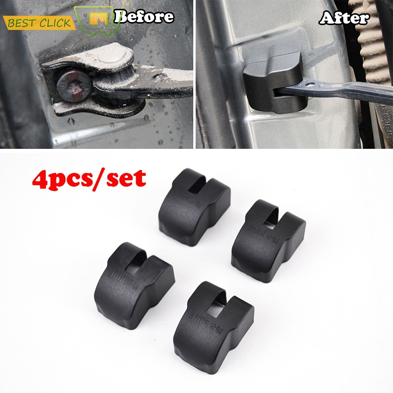 ACCESSORIES FIT FOR 2005 2006 2007 2008 2009 2010 2011 FORD FOCUS MK2 DOOR CHECK ARM COVER LOCK STOPPER HINGE CAP LIMITING(China (Mainland))