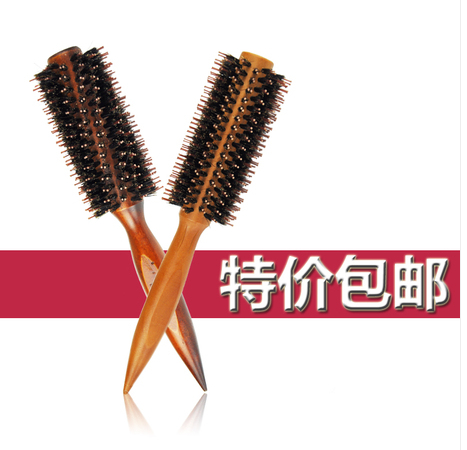 Гаджет  Hot heat resistant pear head comb brush comb shape hair hair combed bristle Mao Gunshu log None Изготовление под заказ