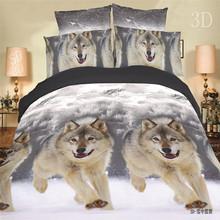 On Sale Newest 3Pcs Animals Flowers Tiger 3D Bedding sets Cotton Home Bedding-set Bed Set Quilt Duvet Pillow Covers No Comforter(China (Mainland))