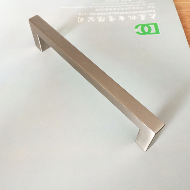 Free Shipping DC-LS128-3 Modern Contemporary Aluminum furniture pull cabinet cup drawer matte nickel pulls 10pcs/lot(China (Mainland))