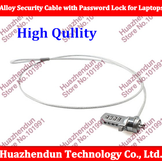 10pcs/lot Wire Rope High Quality Alloy Security Cable with Password Lock for Laptops1M Free Shipping<br><br>Aliexpress