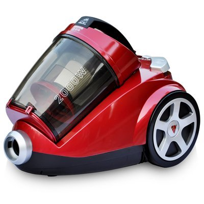 Puppy double horizontal vacuum cleaner d-916 Filter metal red vacuum cleaner
