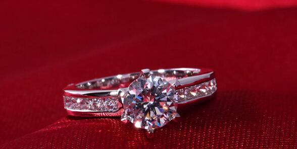 18k Diamond Engagement Ring Diamond Engagement Ring 2