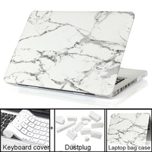 Marble Texture Case For Apple Macbook Air Pro Retina 11 12 13 15 laptop bag case For Macbook Air 13 case Pro 13 Retina13 15 case(China (Mainland))