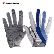Buy Padded Shockproof Ciclismo Luvas Full Finger Men Cycling Guantes Non-slip Mountain Bike Bicycle Gloves for $6.99 in AliExpress store