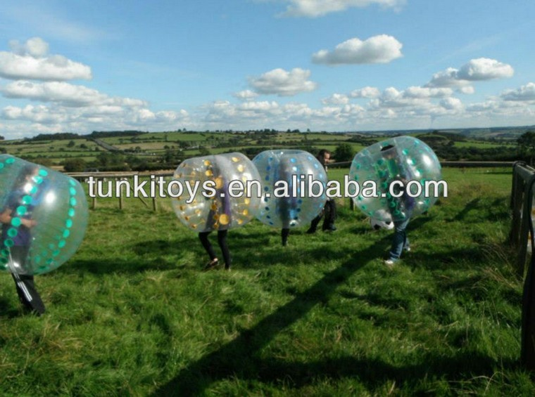 Commercial Grade Bumper Soccer/ Bubble Football for sports(China (Mainland))