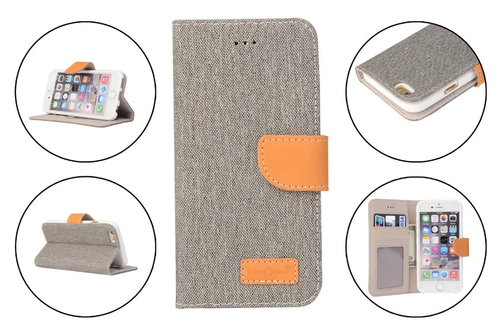 2016 new arrival phone case imported cow leather case with card holder For iPhone 6 /6 plus Mobile Phone Bag Cover high quality(China (Mainland))