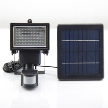 Solar Lighting System LED Motion Sensor Lamp Waterproof Motion Sensor Wall Lights ,Security Light,Solar Rechargeable Floodlight(China (Mainland))