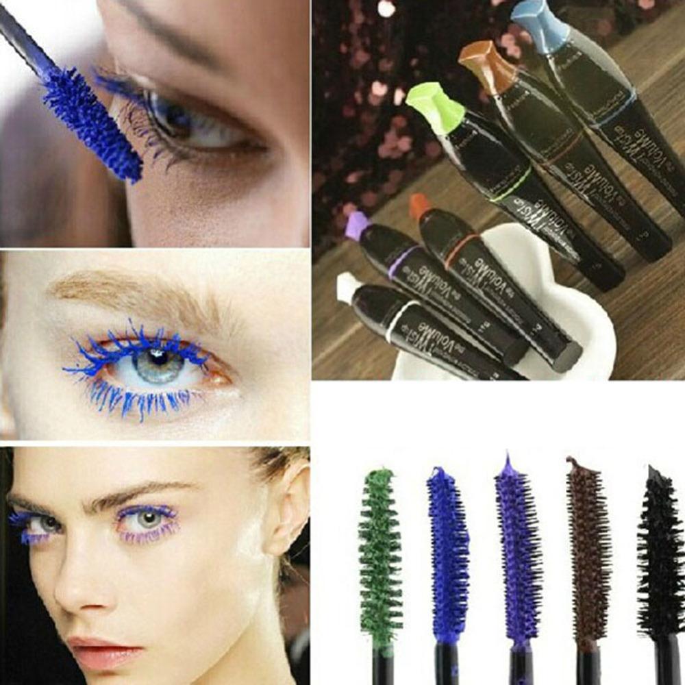 1 Piece Multi-Color Cosmetic Long Fiber Curl Mascara Eyelash Extension Grower Makeup(China (Mainland))