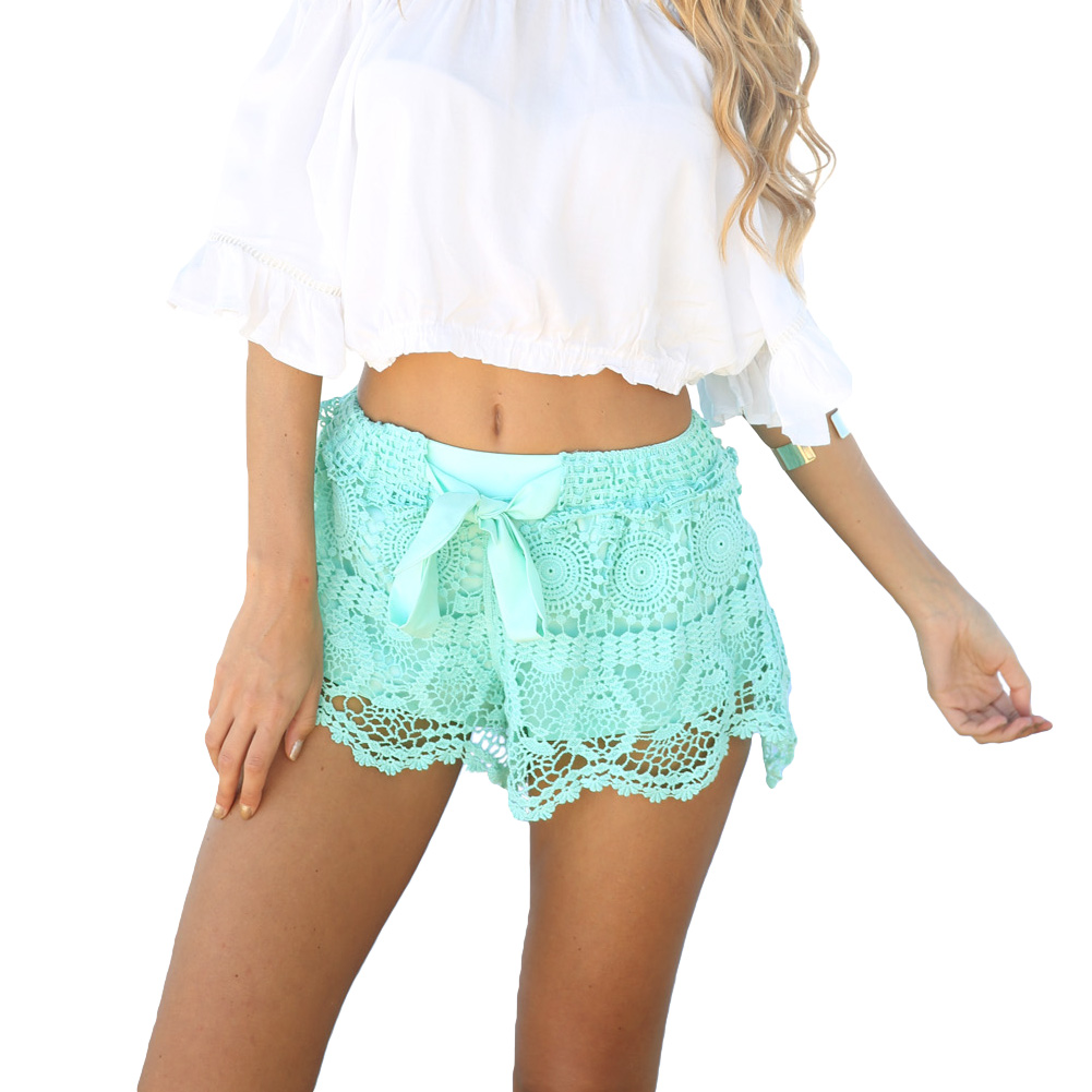 Женские шорты Short women 2015 feminino lace shorts женские джинсы new brand 2015 feminino women shorts