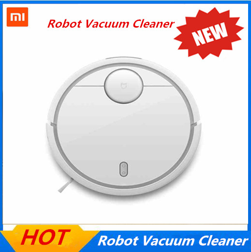 3 years warranty! Original Xiaomi Mi Robotic Vacuum Cleaner Room for home ,wifi and APP, household vacuum cleaning machine(China (Mainland))