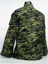 BDU Canada Army Battle Uniform Woodland Digital Camouflage Suit Military Combat Uniform Sets Jacket and Pants(China (Mainland))